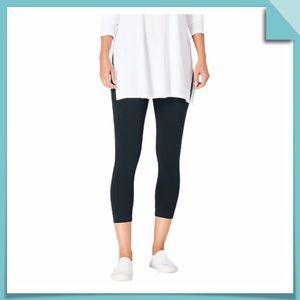 J.Jill Capri Leggings Black Size S